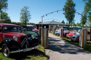 Det nordiske grænsetræf indtog nyåbnet folkepark fra 60-erne